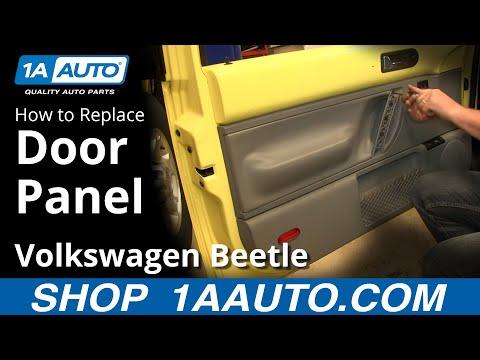 How To Remove Door Panel 98-10 VW Volkswagen Beetle