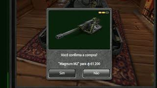 Tanki Online Road To Legend (sem comprar cristal #31) Buying MAGNUM M2