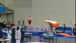 Tan Jiaxin - VT Qual - 13th Chinese National Games 2017 Tianjin