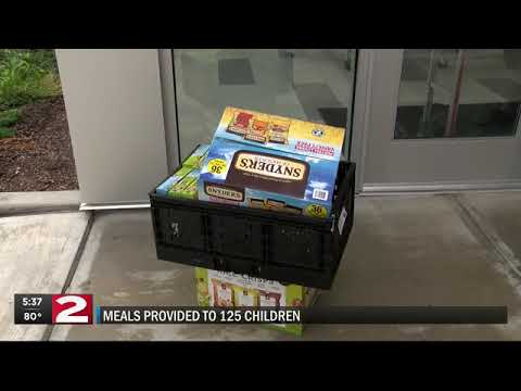 Bargain Grocer kicks off summer lunch program at Kernan Elementary School