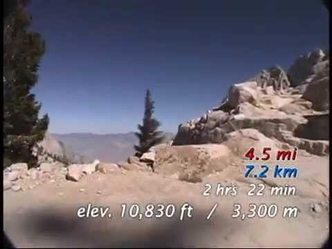 Mt. Whitney Trail Sierra Nevada, California  MW456U