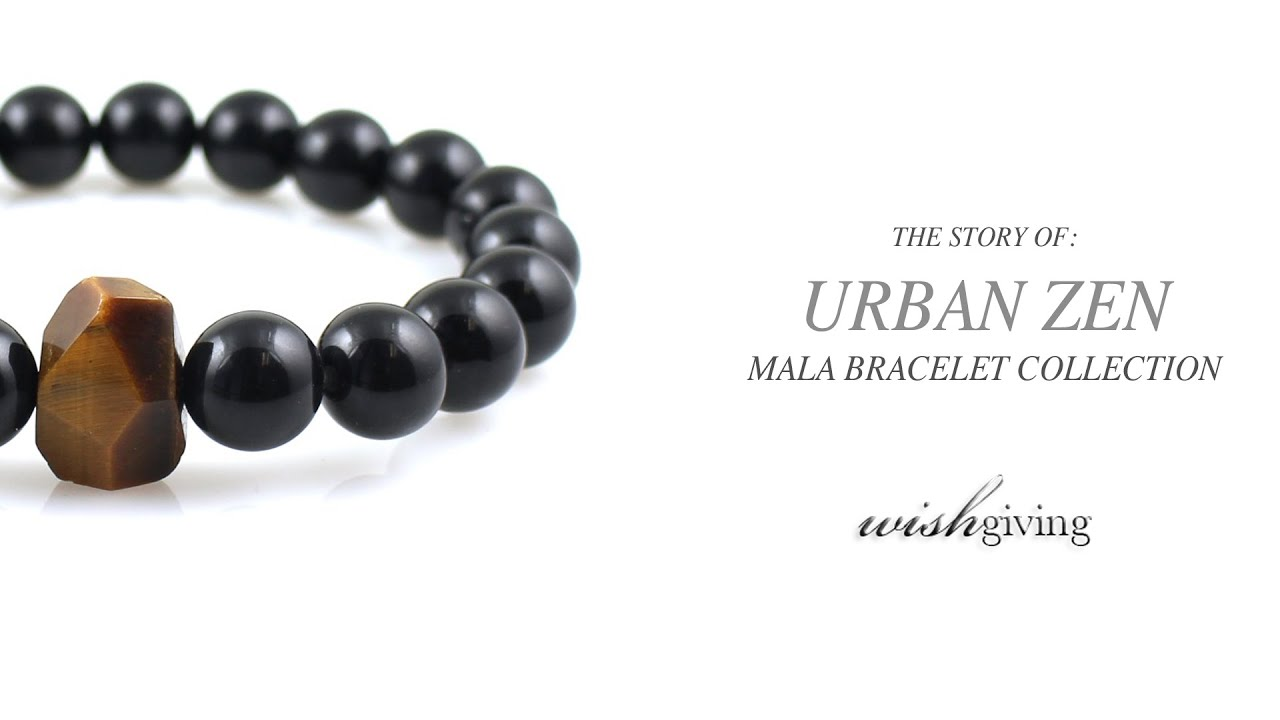 Unique Mens Bracelets Urban Zen Series from Wishgiving Unique