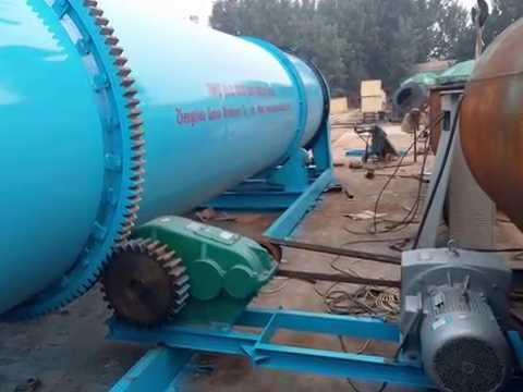 Rotary Wood Chips Dryer By Sunco Machinery