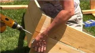 Growing Vegetables : How To Build Raised Planting Beds For Vegetables