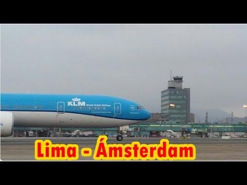 Lima - Ámsterdam / KLM Boeing 777-300