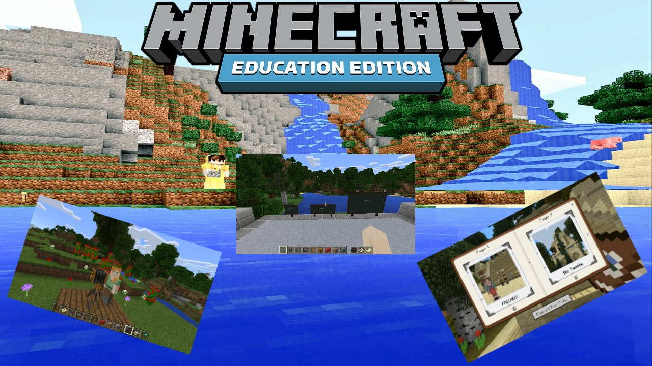 Minecraft: Education Edition ONLY - Education Edition EXCLUSIVE FEATURES  NOT IN ANY OTHER VERSIONS