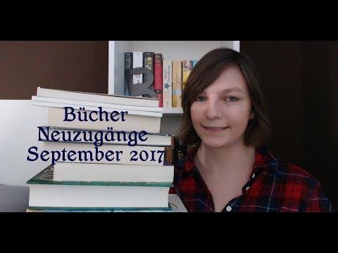 Bücher Neuzugänge September 2017