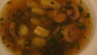 суп грибной ассорти
