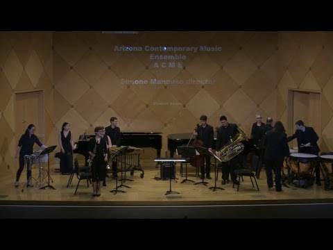 Arizona Contemporary Music Ensemble; Starts 04/14/2018 at 2:30pm AZ Time