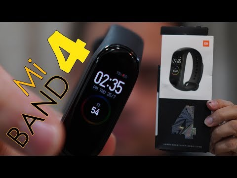 Xiaomi Mi Band 4 unboxing, hands on is it better than Mi Band 3?