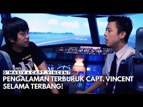 D'MASIV x Capt. Vincent: Pengalaman Terburuk Capt. Vincent