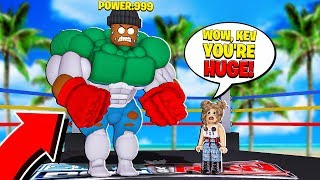 I became the STRONGEST BOXER in the WORLD! (Roblox)