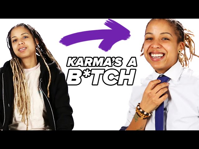 "We Tried The ""Karma's A B*tch"" Challenge"