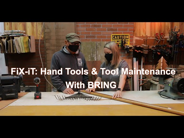 Hand Tool Maintenance & Sharpening
