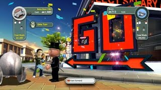 Monopoly Streets XBOX 360 Gameplay - Overlooked Fun Game!