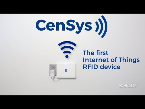 Brady CenSys: The First IoT RFID Asset Tracking Device
