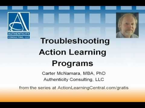 Troubleshooting Action Learning Programs (3 of 3)