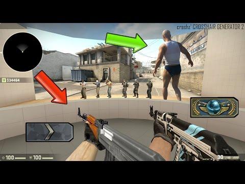 Секрет стрельбы CS:GO - Мясник стреляет как сильвер !