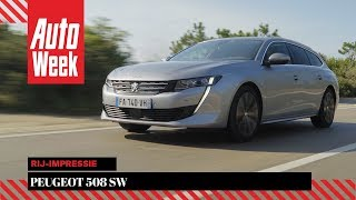 Peugeot 508 SW – AutoWeek Review - English subtitles