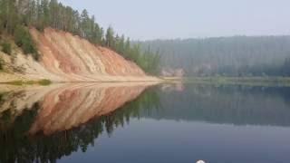Река Непа север Иркутской области 20160701(Видео снято на мобилку во время путешествия по реке Непа. лето 2016 год., 2016-10-13T05:07:03.000Z)