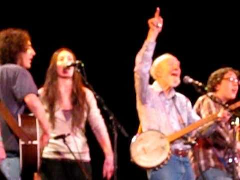 Pete Seeger, Matt Emmer and Power of Song - Clearwater Generations - April 22, 2011