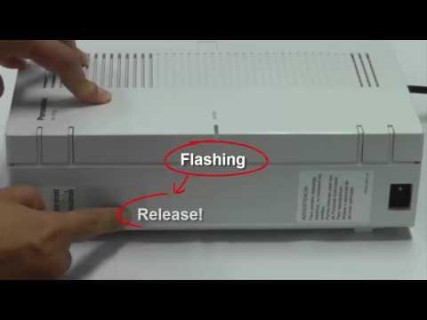 Panasonic KX-HTS Series Setup Guide Aid 01-05 (IP Configuration)