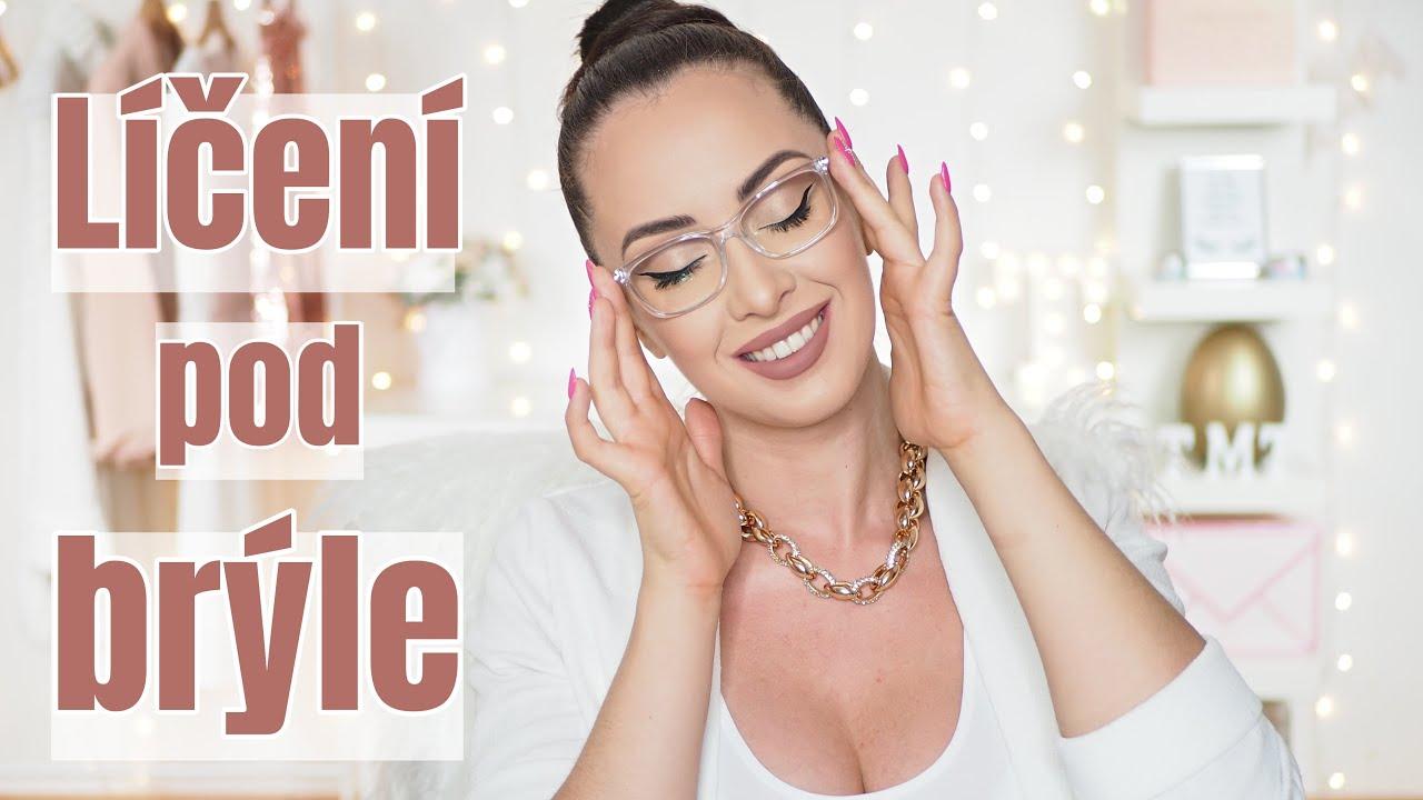 Jak se líčit pod dioptrické brýle? + Brýle pro práci s počítačem | TMT