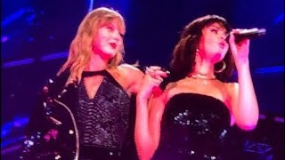 TAYLOR SWIFT AND SELENA GOMEZ PERFORMING 'HANDS TO MYSELF' - REPUTATION TOUR PASADENA
