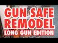 Gun Safe Remodel: Long Gun Edition