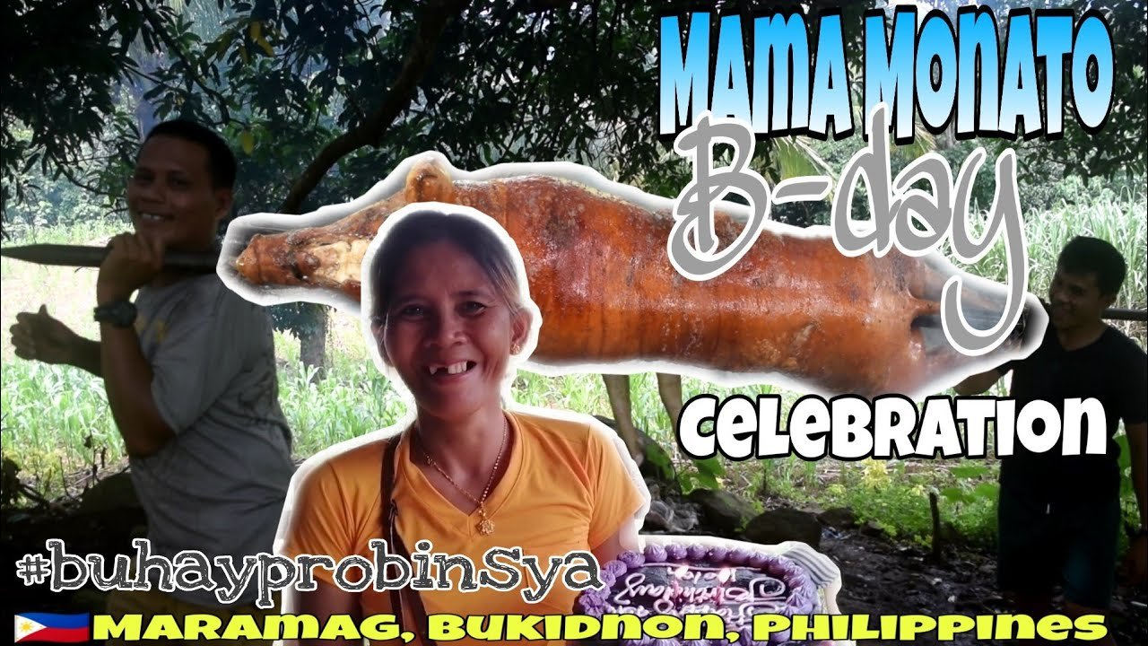 Mama Monato SIMPLE SURPRISE Bday | BUHAY PROBINSYA EP45 | BUKIDNON