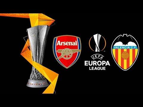 Arsenal Vs Valencia (Semi-Final) Europa League 2019 Gameplay