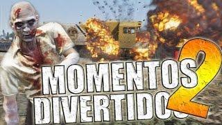 GTA V | COMPILADO DE MOMENTOS GRACIOSOS #2 (GTA 5)
