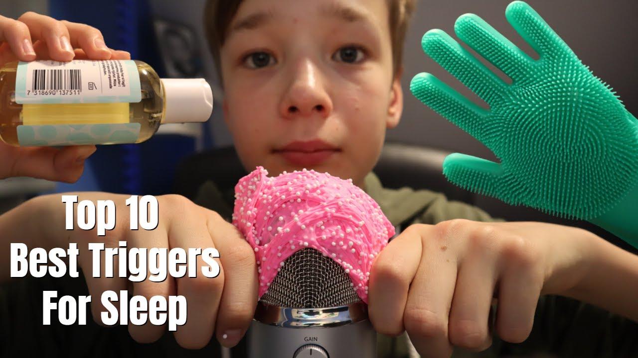 ASMR Top 10 BEST Triggers For SLEEP