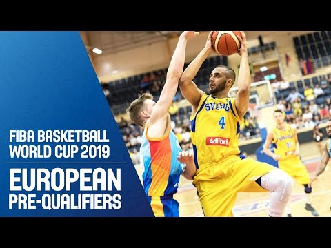 Sweden v Armenia - Full Game - FIBA Basketball World Cup 2019 - European Pre-Qualifiers