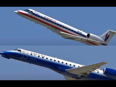 (HD) Regional Jet Takeover - HD Airplanes Spotting  O