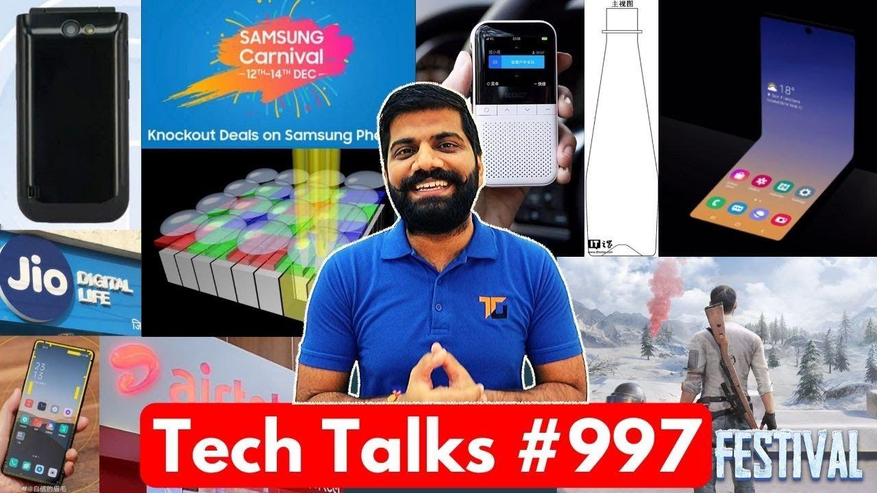 Tech Talks # 997 - Whatsapp Ban, Galaxy Fold 2, Xiaomi Mineral Water, Galaxy A51 / A71 India Launch + vidéo