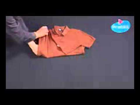 Comment plier un polo en 3 secondes youtube youtube - Comment plier un t shirt ...