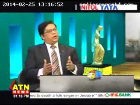 Nayeem on Business Lunch at ATN News-February-2014