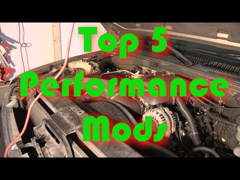 Top 5 Performance Mods for Horsepower