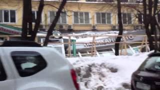 Обрушение здания автосалона Пеликан авто