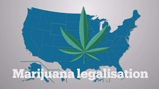 Marijuana may be legalized in 29 US states