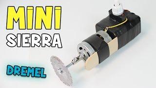 Cómo hacer una Mini Sierra Casera ó Mini Dremel Casera thumbnail