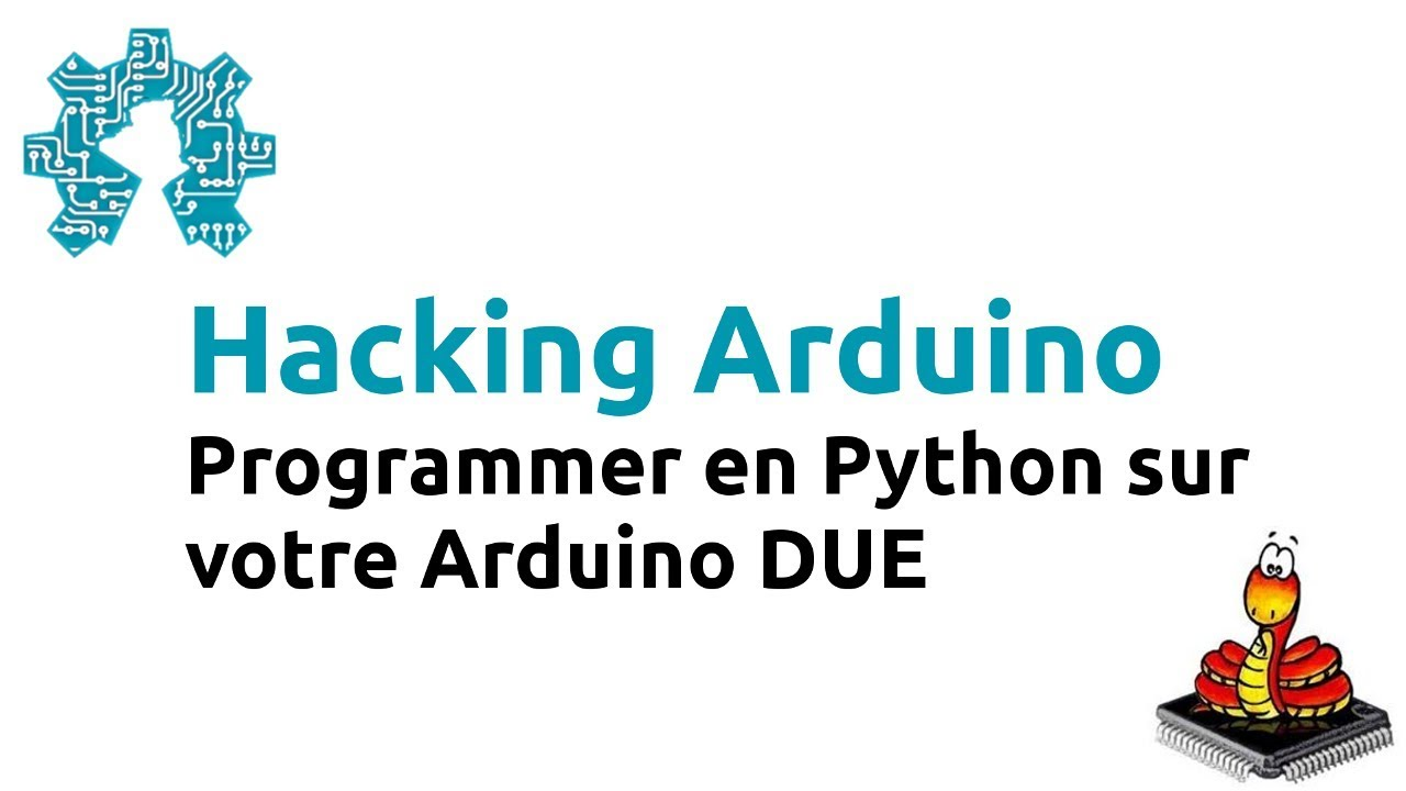 Hacking Arduino : Programmer en Python sur votre Arduino DUE