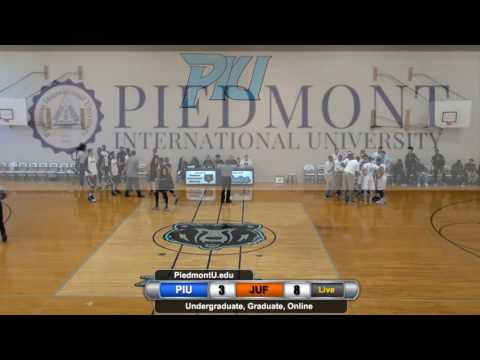 PIU vs Johnson University FL Men's Basketball 2/17/17