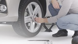 How to change a wheel on your Toyota