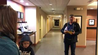 Surprising Dad with World Series Tickets