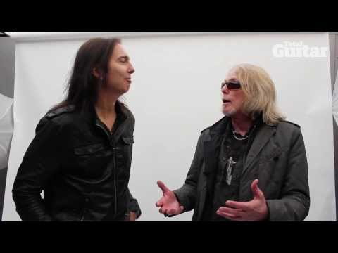 Onstage Nightmares interview with Black Star Riders guitarists Scott Gorham and Damon Johnson