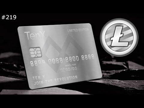 TenX Co-branded Litecoin Card - Daily Deals: #219