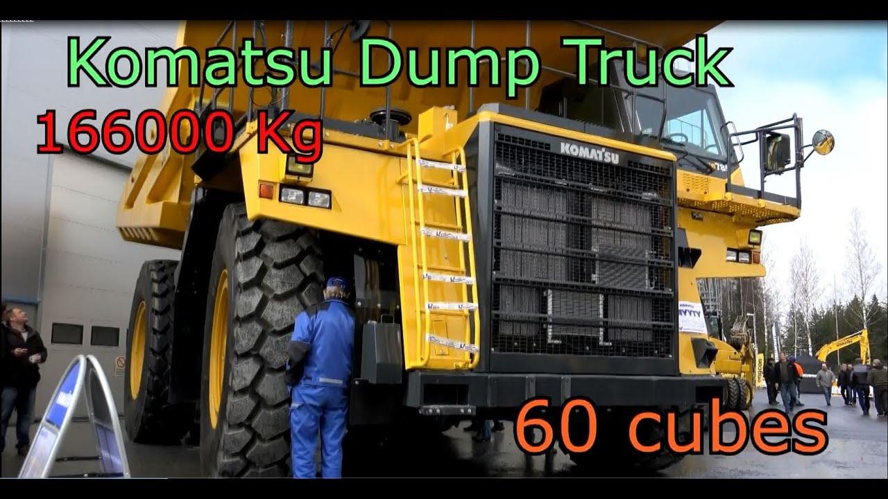 Komatsu Dump Truck HD 785 -World's Largest Truck - YouTube