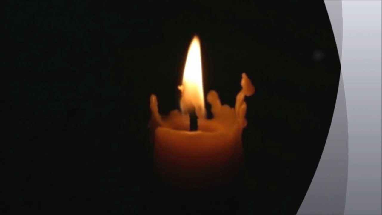 når jeg tænder lys i mørket